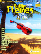 Latin Themes for Violin