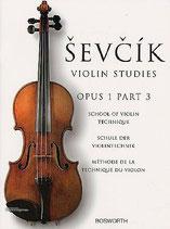 Sevcik - Violin Studies Opus 1 Heft 3