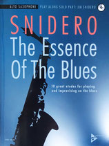Snidero - The Essence of the Blues - Altsaxophon