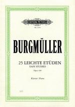 Burgmüller - 25 leichte Etüden