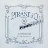 Einzelsaite Piranito D für  Cello