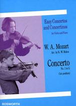 W. A. Mozart Concerti No. 1 in G (arr. K.W. Rokos)