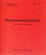 Prozessionsbüchlein - 5.Stimme in F