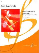 Guy Lacour - 50 Etudes faciles et progressives 1 (1-25)