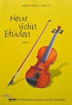 R.Pracht - Neue Violin Etüden Heft 2