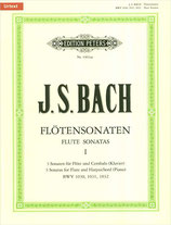 J. S. Bach - Flötensonaten Peters Band 1