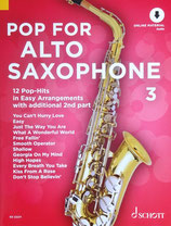 Pop for Alto Saxophone Bd.3