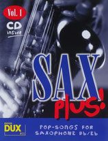 Sax Plus - Pop Songs for Saxophone Bb/Eb
