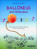 Ballonius lernt Noten lesen