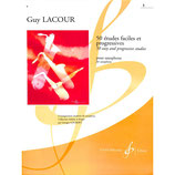 Lacour - 50 Etudes faciles + progressives  Band 1 von 2