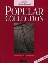Popular Collection Bd.10 Flöte/Klavier