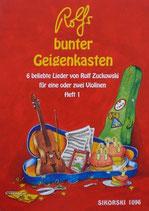 Rolfs bunter Geigenkasten Heft 1