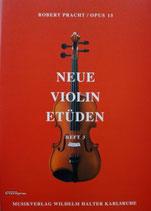 R.Pracht - Neue Violin Etüden Bd.3