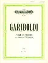 Gariboldi - Die ersten Übungen