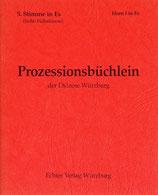 Prozessionsbüchlein - 5.Stimme in Es