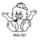 Babyaufkleber Motiv 001