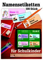 Namesetiketten (100 Stück)