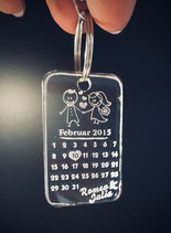 Schlüsselanhänger - Kalender