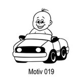 Babyaufkleber Motiv 019