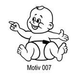 Babyaufkleber Motiv 007