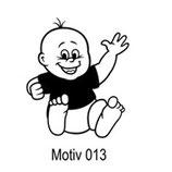 Babyaufkleber Motiv 013