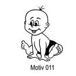 Babyaufkleber Motiv 011