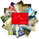 Postkarten - Über den Pass (Bahnimpressionen)