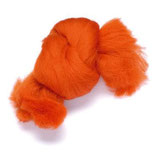 Volna za polstenje, oranžna, 50 g