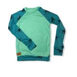 "Shirt ""Wildpferde mint"" 110/116"