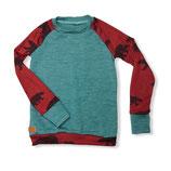 """Shirt """"Bären/Aqua"""" 110/116"""