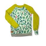 """Shirt """"Dschungel/Limette"""""""