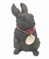 ウサギ 首飾り付き(小)