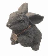 ウサギ 首飾り付き(大)