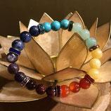 Bracelet 7 Chakra - Elastique
