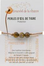 Bracelet de la chance - Perles d' Oeil de Tigre