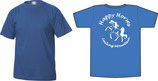 T-shirt pour enfant bleu royal et vert