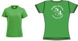 T-shirts pour Dame royal et Vert
