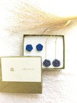 ブルーの梅 2set Sarrii W blue