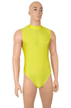 Herren Body ohne Ärmel RRV gelb