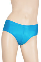 Damen Wetlook Panty türkis
