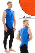 Herren Body ohne Ärmel FRV orange