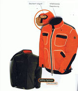 Wendejacke orange/oliv