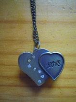 Uhrenkette Herzen