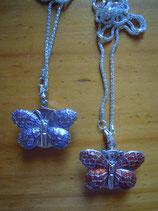 Uhrenkette Schmetterling