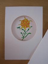 Klapp-Postkarten handgemalt