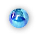 Murmeln blau glänzend