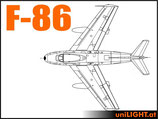 Bundle F-86 Sabre, 1/6 Scale, Standard