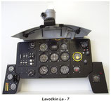 1/4 Scale Lavochkin La-7 Instrument Panel 3029
