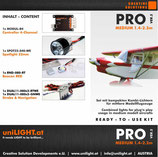 PRO-Medium Lighting Set, SET-PRO-M