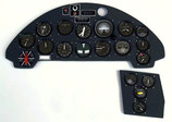 Vought F4U Corsair Instrument Panel 3026